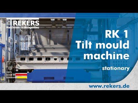 REKERS Tilting vibro-press RK1 stationary