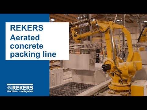 REKERS Aerated Concrete Packing Line