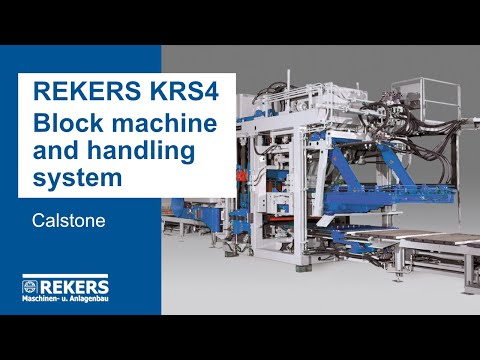 REKERS KRS4 Block Machine and Handling System (Calstone)