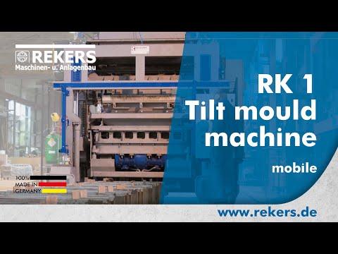 REKERS Tilting vibro-press RK1 mobile