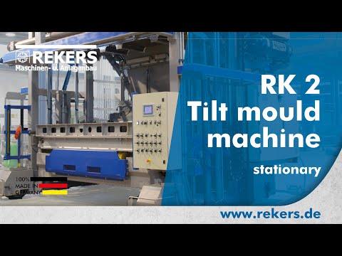 REKERS Tilt mould machine RK2 stationary